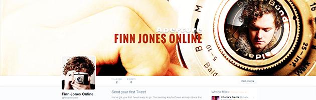 Finn Jones Online Is On Twitter